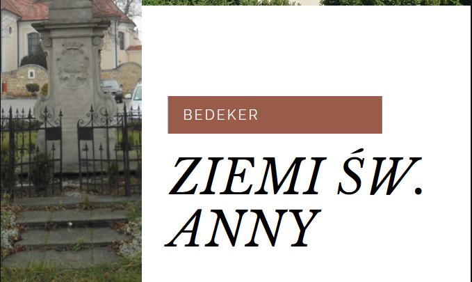 Projekt okładki Bedekera Ziemi św. Anny